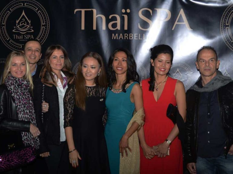 Opening launch of Thai Spa Marbella