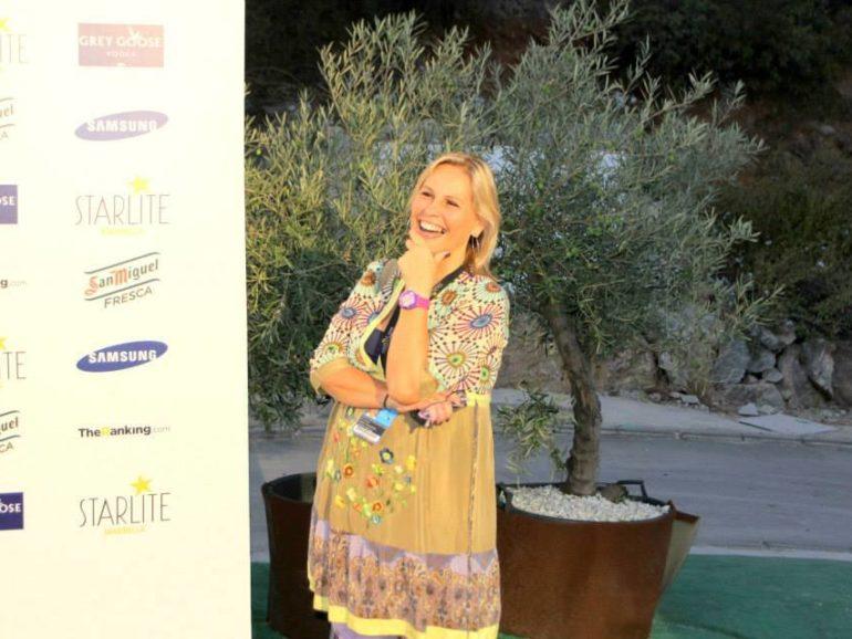 Momentos del photocall en Starlite Festival
