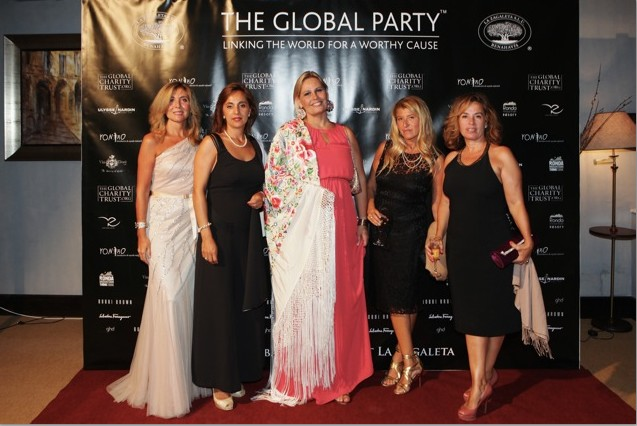 Colaboración con The Global Party en La Zagaleta