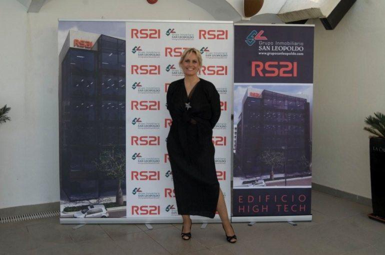 Presentación del Edificio High Tech RS21 en La Cabane, Hotel Los Monteros