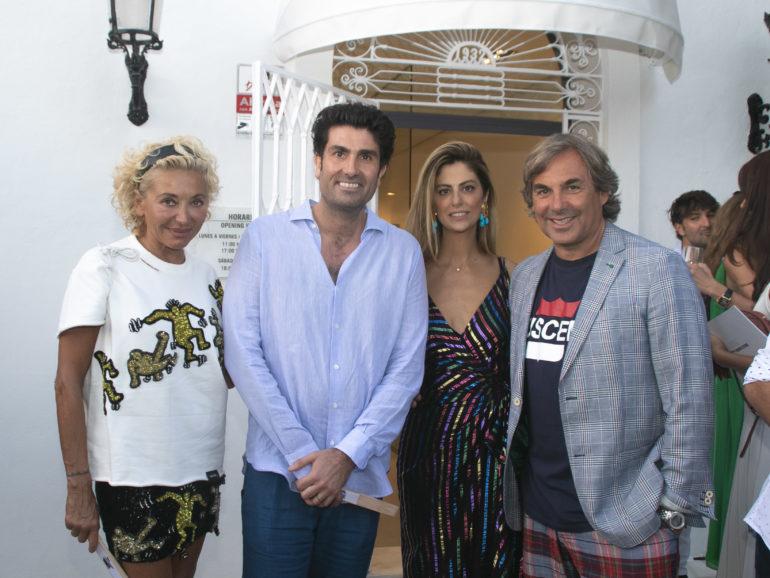 Galería de arte Sholeh Abghari inauguración en Marbella