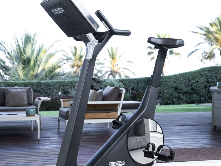 Bike Personal Technogym launch