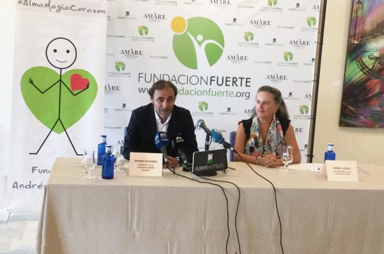 Press Conference for the Fundación Andrés Olivares