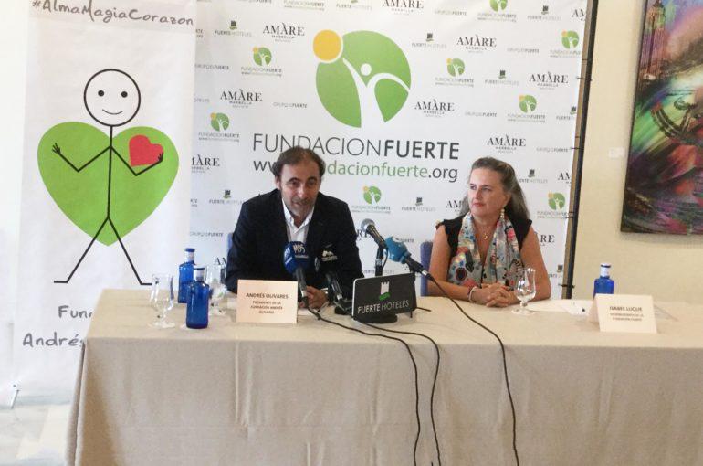 Rueda de Prensa para la Fundación Andrés Olivares