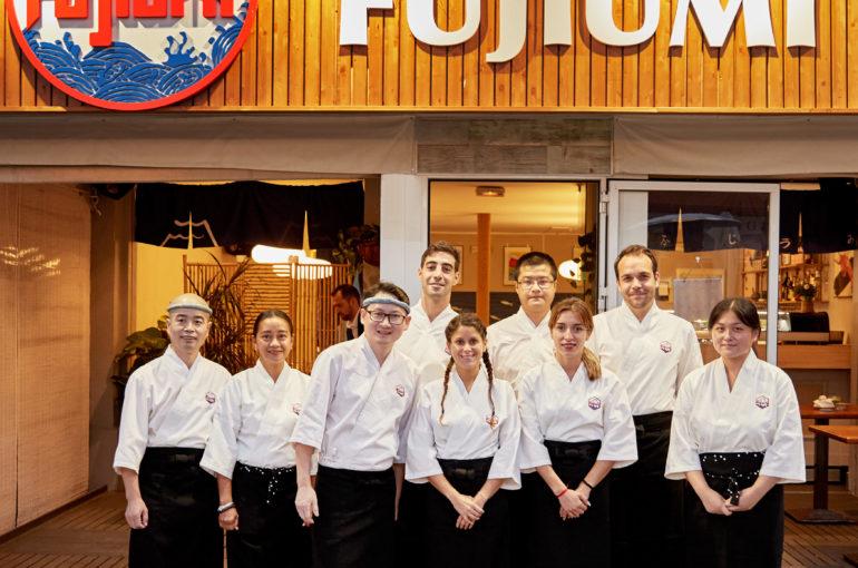 FUJIUMI restaurante noche de inauguración