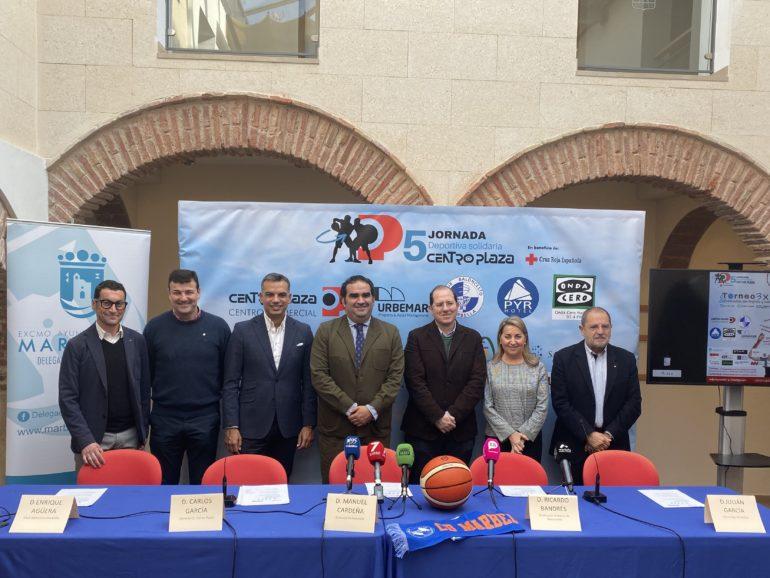 Centro Plaza presenta su 5ª Jornada deportiva Solidaria a favor de Cruz Roja Marbella