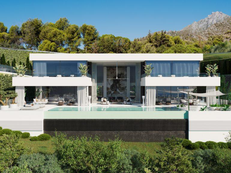 La villa menos contaminante de España se construye en Marbella