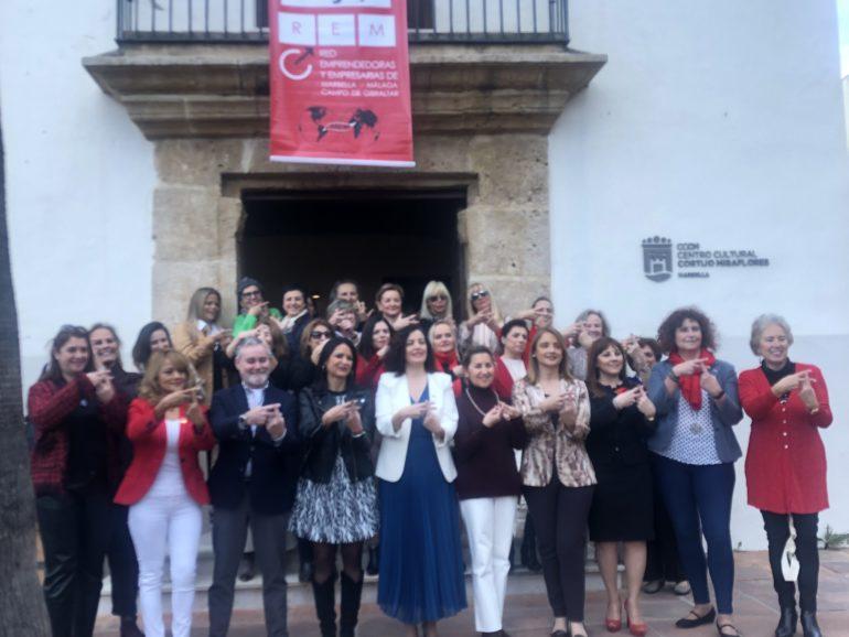 """LA RED EMPRENDEDORAS DE MARBELLA Y CAMPO DE GIBRALTAR (REM) CELEBRA POR SÉPTIMO AÑO CONSECUTIVO SU JORNADA """"EQUAL PAY DAY"""""""