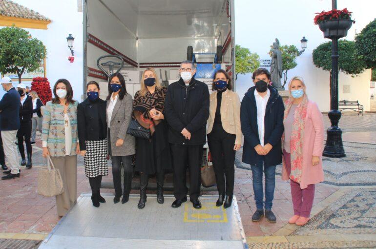 Engel & Völkers Marbella dona 9 toneladas de alimentos a Cáritas Marbella para las familias más desprotegidas