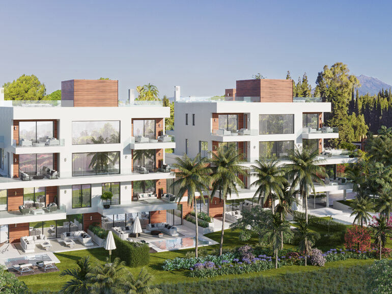 Marbella's real estate market revives on the Golden Mile with the start of construction on the Benalús project